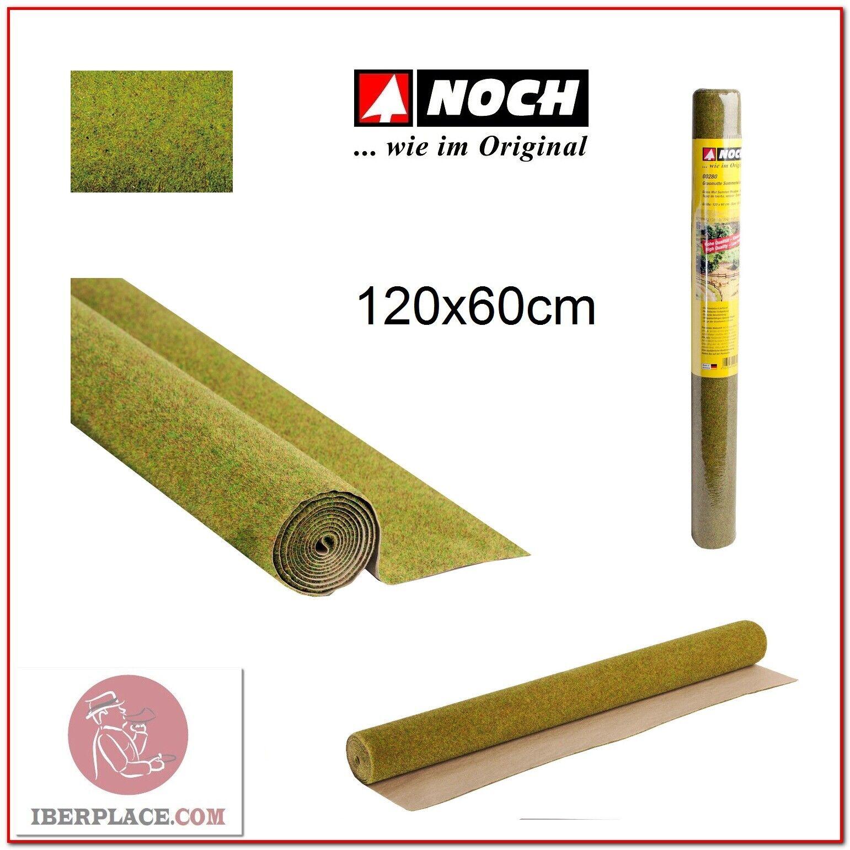 Z N H0 escala Noch 00280 Tapiz de hierba verano 120x60 cm...