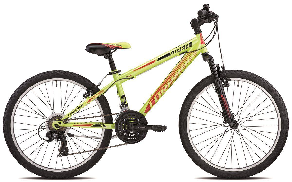 MTB Junior T610 Viper 24 3x6v green 19t610v Torpado Fahrrad