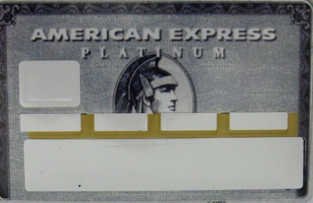 3d3a03548a3 Sticker Credit Card - American Express Platinum - CB Sticker - Skin