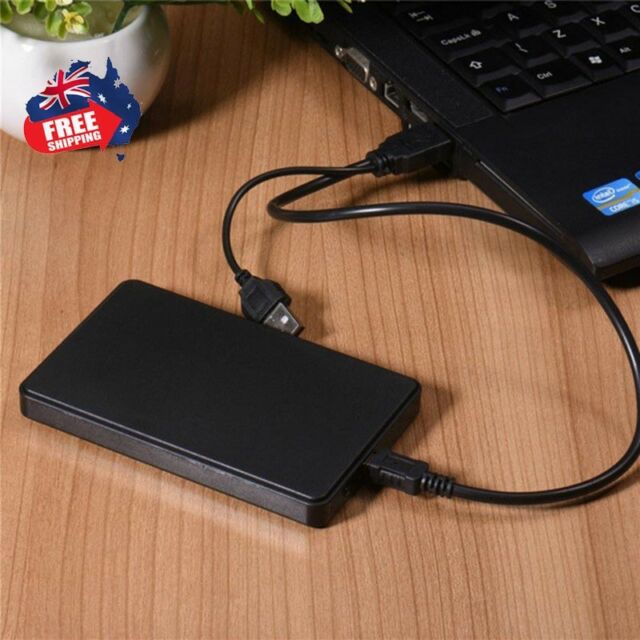 USB 3.0 1TB External Hard Drives Portable Desktop Mobile Hard Disk Case AU Stock
