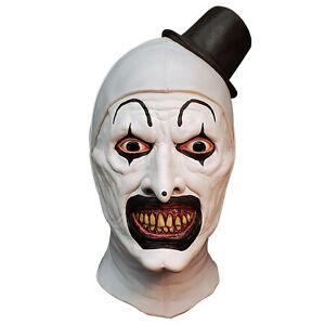 Adult Art The Clown Terrifier All Hallows' Eve Halloween Cosplay Costume Mask