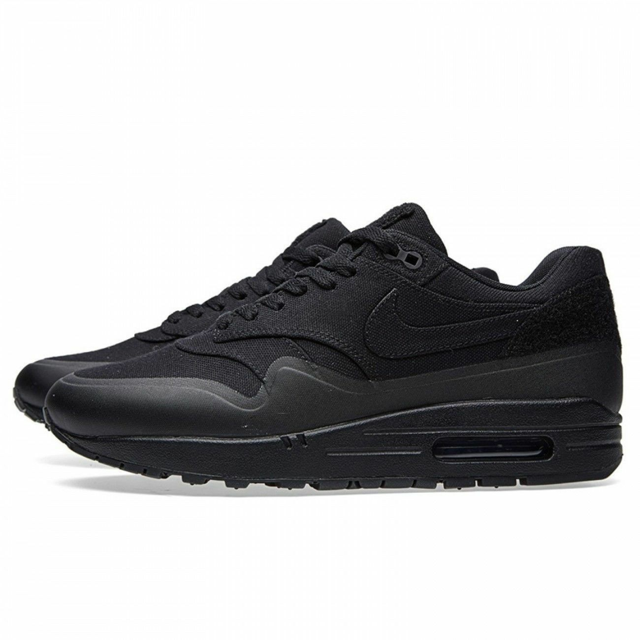 New Nike Air Max 1 V SP Patch Triple Black Size 10.5 704901 001