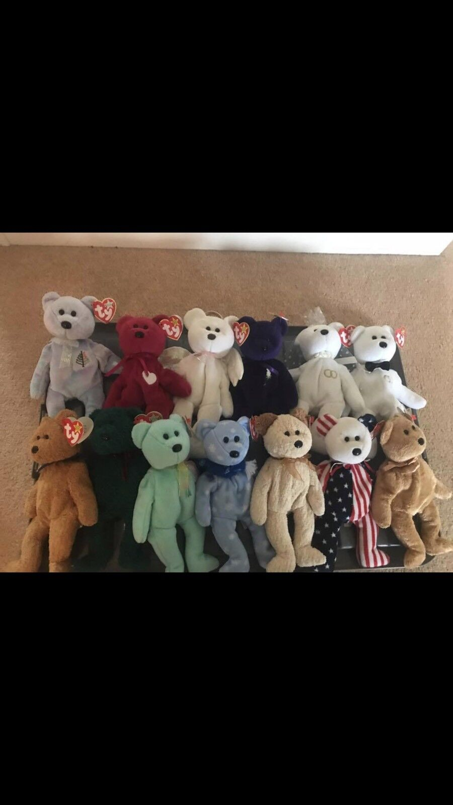 Ty Beanie Baby Bundle Includes Rare Princess Diana Plus Others