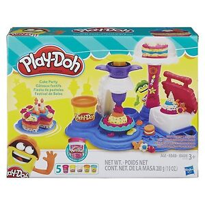 NEW-HASBRO-PLAY-DOH-CAKE-PARTY-PLAY-SET-DOUGH-B3399