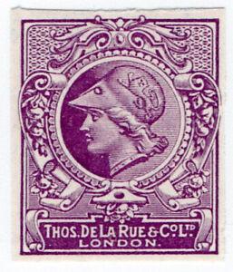 I-B-Cinderella-De-La-Rue-amp-Co-Minerva-Head-Essay-background-2