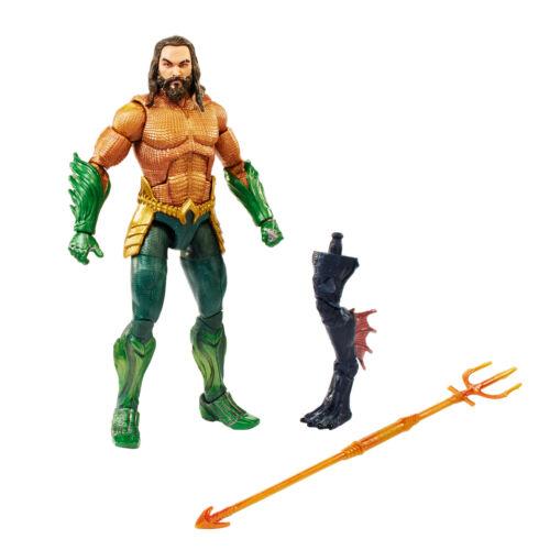 environ 15.24 cm 6 in Aquaman film Super Hero Action Figure Jouet avec arme King Armor NEUF