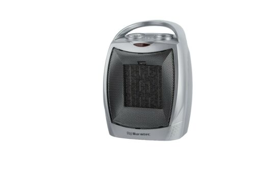 Warmtec 1500W Ceramic Space Heater with Carry Handle Adjustable Thermostat