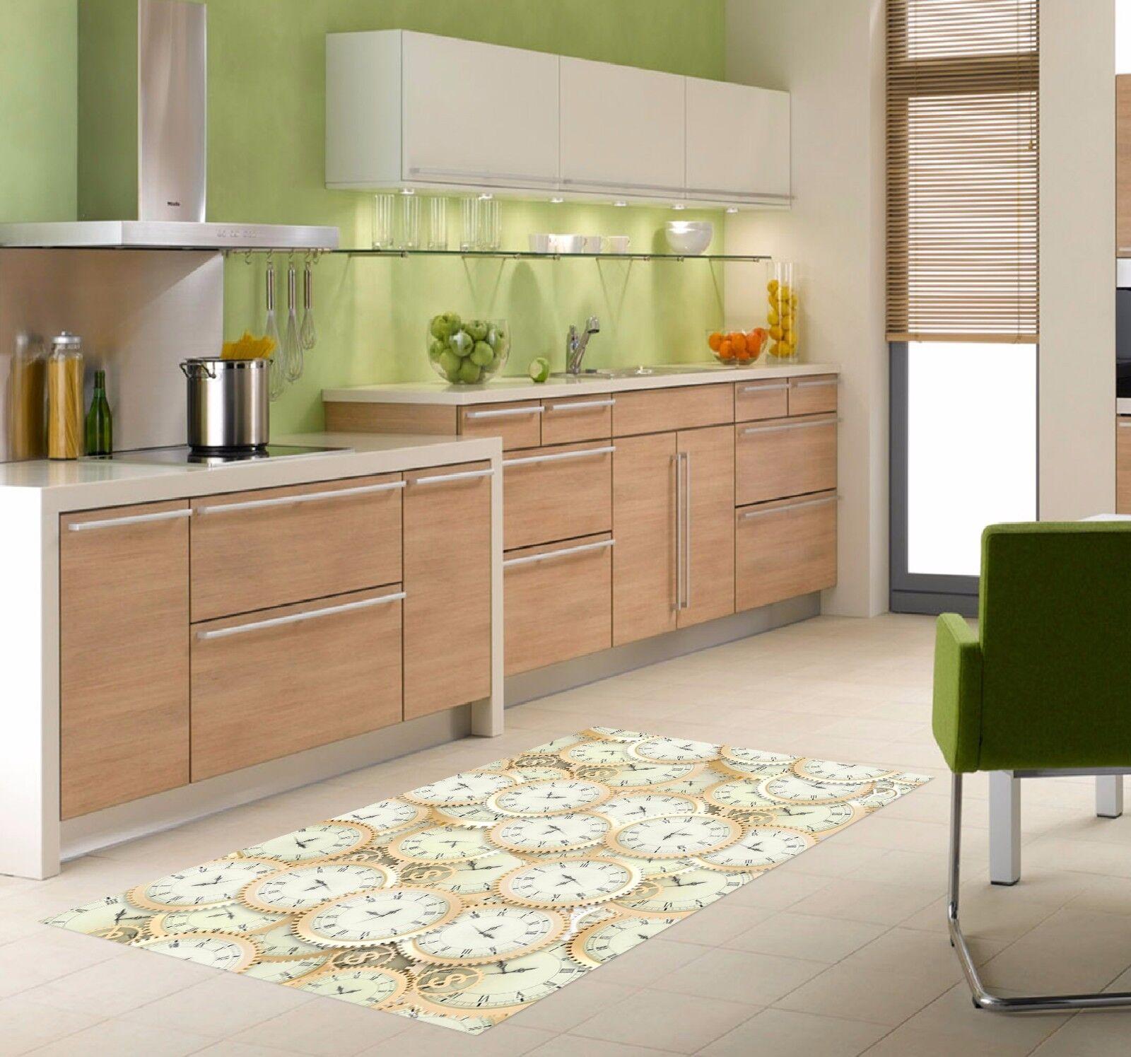 3D White Table 55 Kitchen Mat Floor Murals Wall Print Wall AJ WALLPAPER AU Kyra