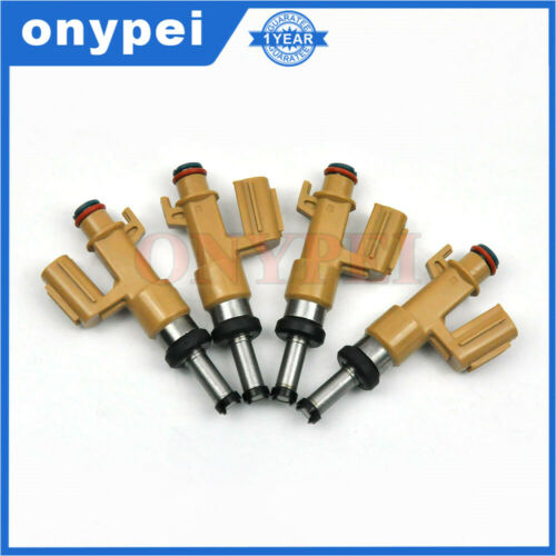 4 x Fuel Injector For Lexus LX570 Toyota Land Cruiser Sequoia Tundra 23250-39165
