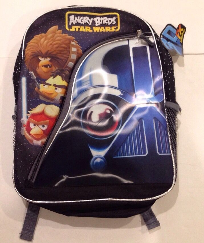New Angry Birds Star Wars Backpack By, Angry Birds Star Wars Full Size Bedding