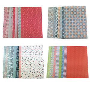 das bild wird geladen 1 kg bastelpapier dekopapier a4 210g 8 designs - Bastelpapier Muster