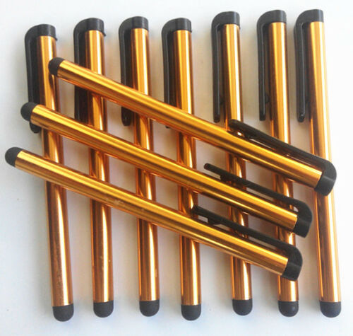 10 x Orange Touch Screen Pen Stylus For Phone Tablet Samsung Galaxy S4 S3 HTC @