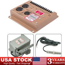 Generator Adc120 Actuator Esd5500e Magnetic Speed Sensor Controller 12v24v