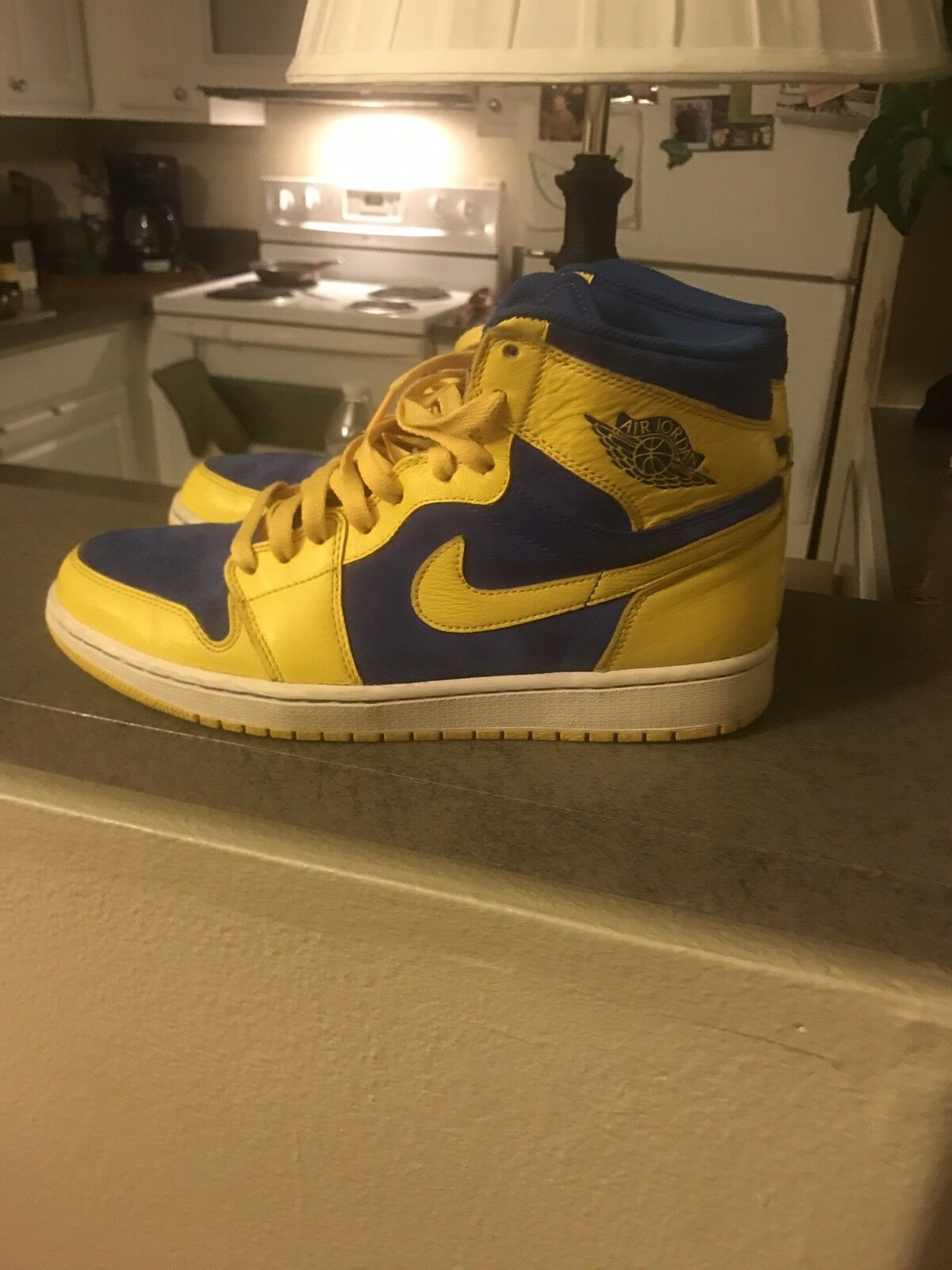 Man's/Woman's Jordan 1 Laneys Size 10 excellent excellent 10 quality New products in 2018 Very good classification acbb4e