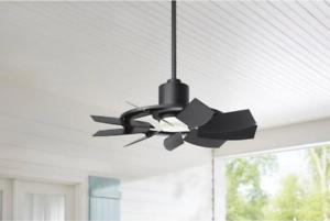 Damp Outdoor 36 Small Windmill Ceiling Fan Unique Hallway Light Patio Garage 792145374312 Ebay