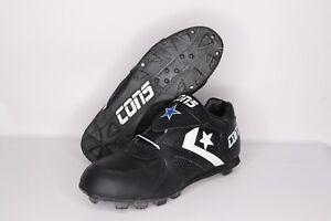 Vintage-90s-New-Converse-Mens-5-5-Cons-Diamond-Demon-Low-Softball-Cleats-Black