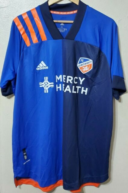 adidas FC Cincinnati 3xl Authentic Home Jersey 2020 Eh8678 With ...