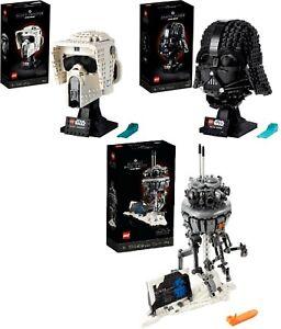 LEGO Star Wars 75304 Darth Vade Helm 75305 Scout Troope 75306  N5/2