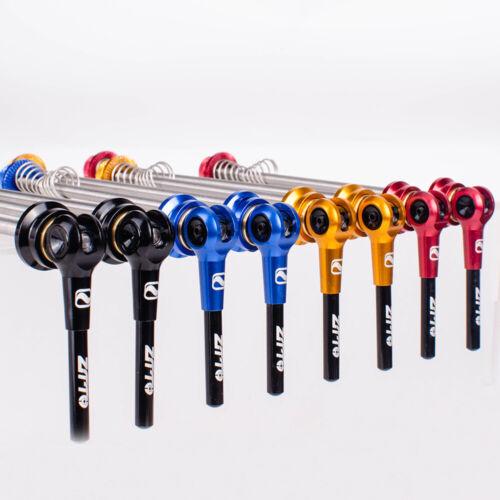 ZTTO 1 Pair MTB Road Bike QR Ti Skewer 9mm 5mm Quick Release 100 135 Hub Axle