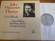 ATL 95 101 Massenet Therese / Baltsa / Albrecht etc. 2 LP box