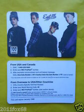 cartes telephone 1998 phone cards 100 units east 17 east seventeen telefonkarten