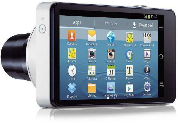 New Samsung Galaxy Camera GC100 EK-GC100 White, 16MP Quad-Core, 21x Digital Zoom