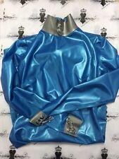 R0987 RUBBER Latex Bondage DRESS Fetish Uniform Shown 8 UK Westward Bound