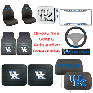 NCAA-Kentucky-Wildcats-Choose-Your-Gear-Auto-Accessories-Official-Licensed