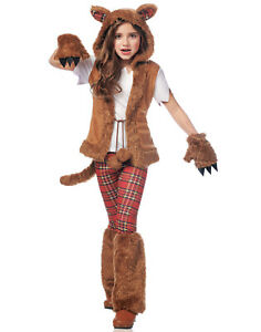Mythical Creatures Halloween Costumes.Details About Howl O Ween Girls Child Mythical Creature Halloween Werewolf Costume