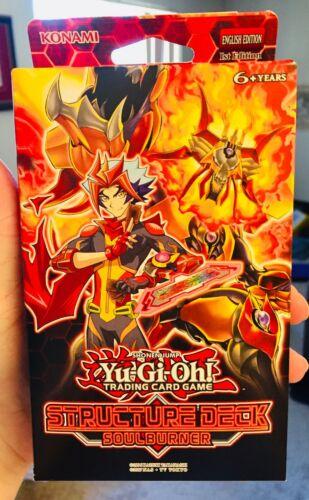 READ DESCRIPTION Yugioh Cards 1st Ed SOULBURNER Structure Deck SDSB NEW SEALED!