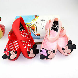 mini-melissa-remake-Jelly-Shoes-Cartoon-Mickey-Minnie-mouse-Sandals-Kids-Toddler