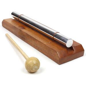 Carillon Aura Unique Barres Métalliques épais-traitement Sonore, La Méditation & Feng Shui Outil-afficher Le Titre D'origine RéTréCissable