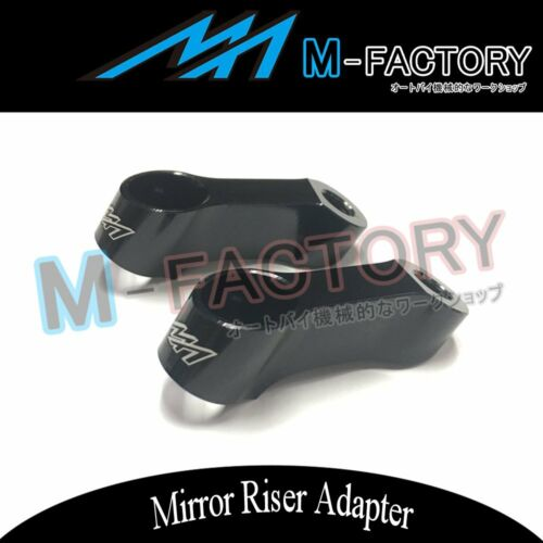 MF 10mm CNC Mirror Riser Extension Fit KTM DUKE 690 990 950 SUPERMOTO 450 SX-F