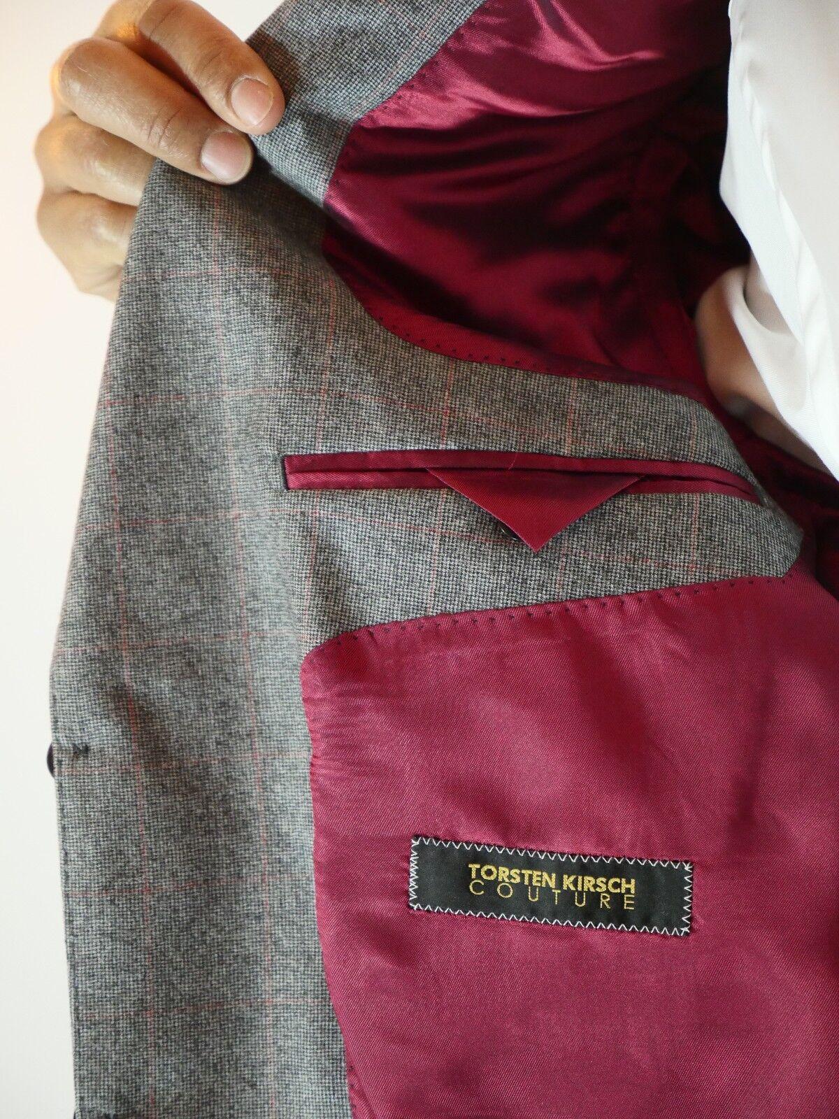 8d55018d6 ... Schurwolle Anzug Woven in Napoli 100% Schurwolle Größe 48 48 48 1c0b68
