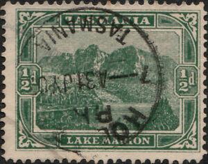 AUSTRALIA-TASMANIA-ca-1903-05-034-HOBART-034-CDS-on-SG237-1-2d-green