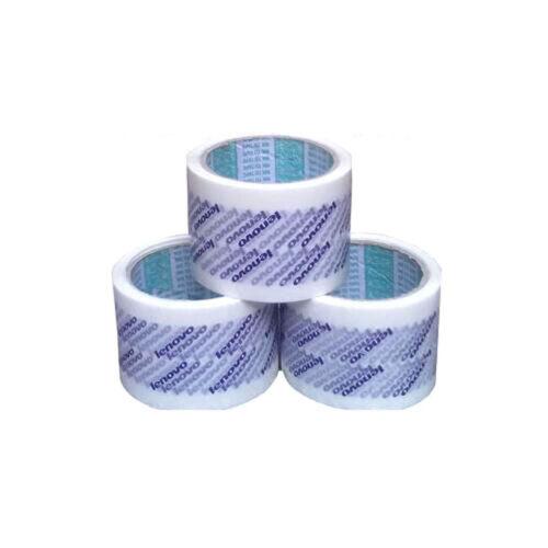 1Roll Lenovo Custom Logo Printed Carton Sealing Packing Tape 72mm x 45M Blue