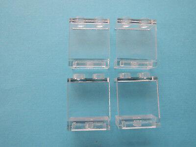 LEGO 8 x Panel Fenster Scheibe 87552  1x2x2 transparent klar