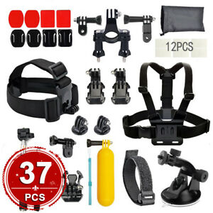Accessories-Pack-Case-Head-Chest-Monopod-Bike-Surf-Mount-for-GoPro-Hero-5-4-3-3
