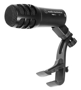 Audio-Technica-PRO23-Cardioid-Dynamic-Instrument-Microphone-Snare-Tom-Drum-Mic
