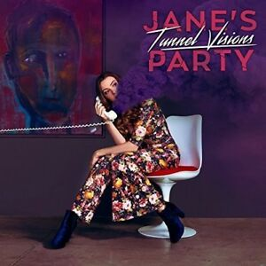 Jane-039-s-Party-Tunnel-Visions-New-CD-Canada-Import