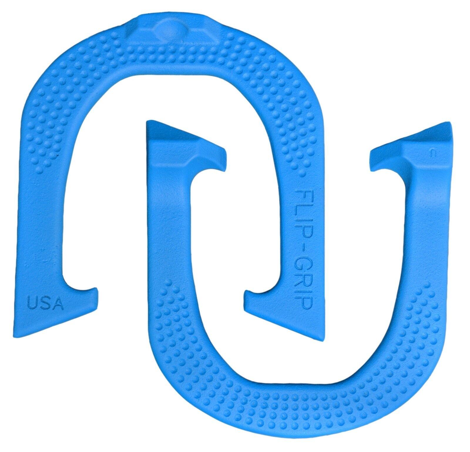 Flip-Grip Horseschuhe- Blau One Pair (two schuhe) Made in USA USA USA bd1e05