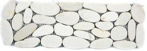 Flusskiesel-Pebble-hellbeige-cream-Borde-Borduere-Kiesel-geschnitten-WBBor-SK0101