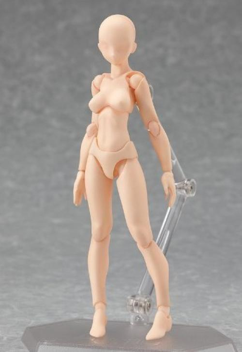 NEW figma 001 archetype she flesh color ver. Figure Max Factory from Japan