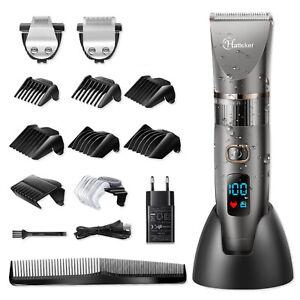 Hatteker-Cordless-Hair-Clipper-Beard-Hair-Trimmer-Groomer-Shaver-Clipper-Haircut