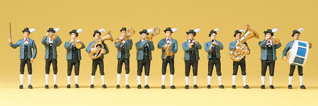 "Preiser 10250 H0 Figurines "" Bavarian Music Band "" # NEW original packaging ##"