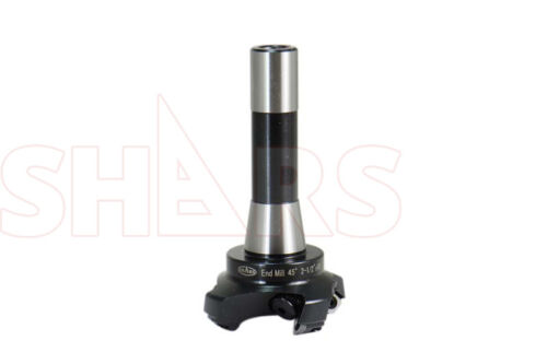 """2-1//2/"""" 45 DEGREE R8 INDEXABLE END MILL SEKN INSERT W// CARBIDE SHIM NEW 53.07/%OFF"""