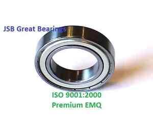 (Qty.10) 6803-ZZ Premium 6803 2Z shield bearing 6803 ball bearings 6803 ZZ ABEC3
