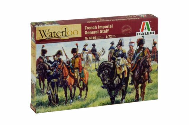 Italeri 6016 1//72 Napoleonic Wars Model Kit French Imperial General Staff Figure