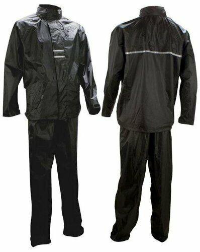 Ralka Regenanzug Wasserdicht 2000MM Größe M Schwarz Senior