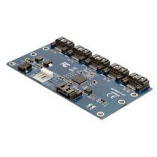 SATA 1 to 5 Hub PM Router Port Multiplier Card Splitter Storage JMB321 chipset